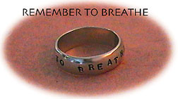 Ring Remember to breathe