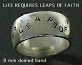 ring - life requires leaps of faith
