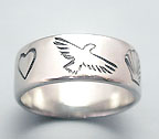 story ring silver